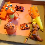 Orange objects box