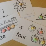 Counting cards 1-4